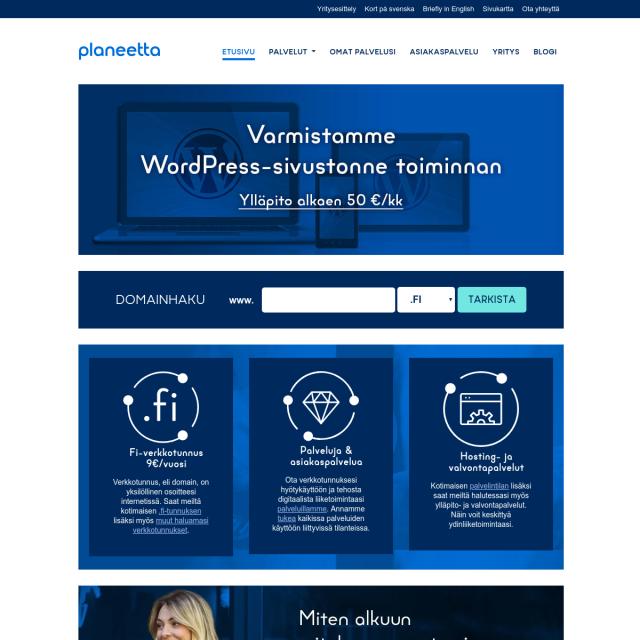 Скриншот Planeetta.net