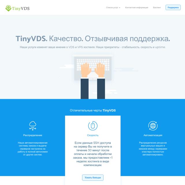 Скриншот TinyVDS